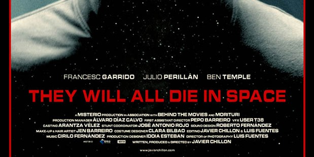 Póster de They Will All Die In Space