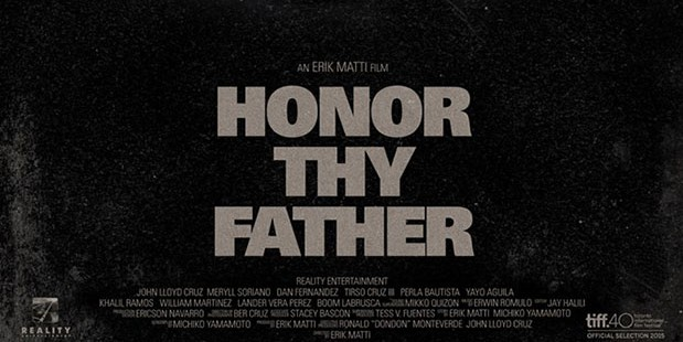 Póster de Honor Thy Father