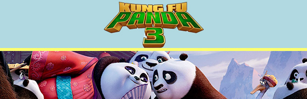 Kung Fu Panda 3-estreno